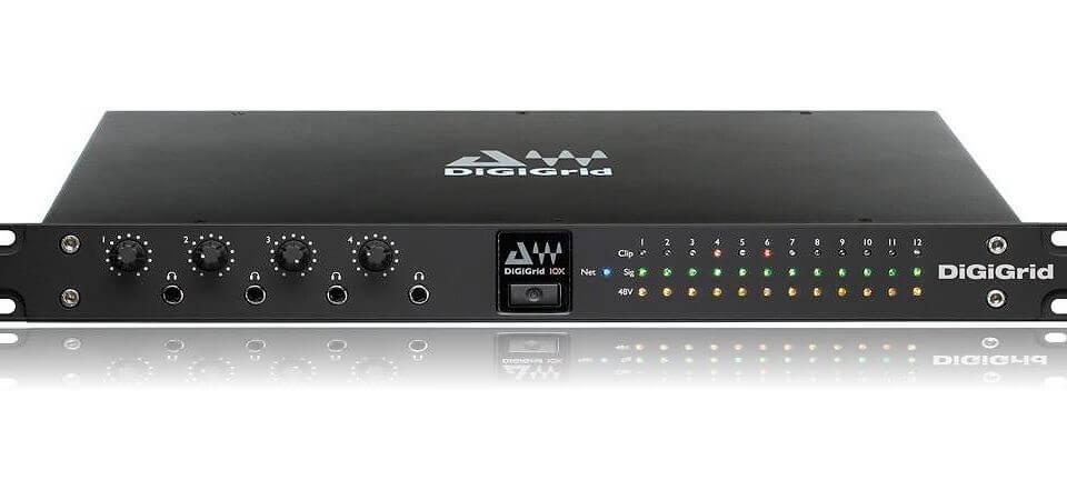Nytt lydsystem: DiGiGrid IOX og SoundGrid