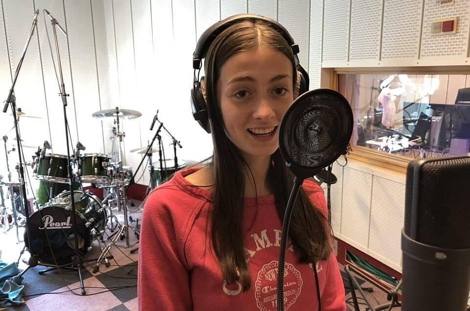 Marie har arbeidsuke i studio
