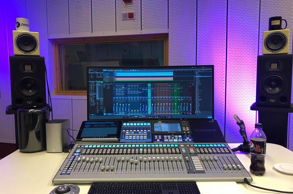 Nytt utstyr i studio: Studio One